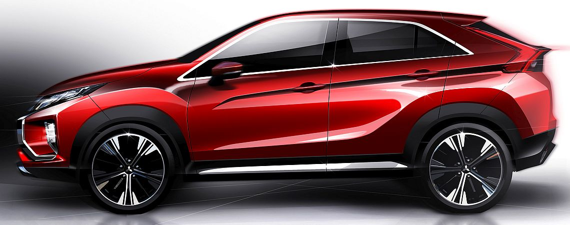 Eclipse Cross - exteriér